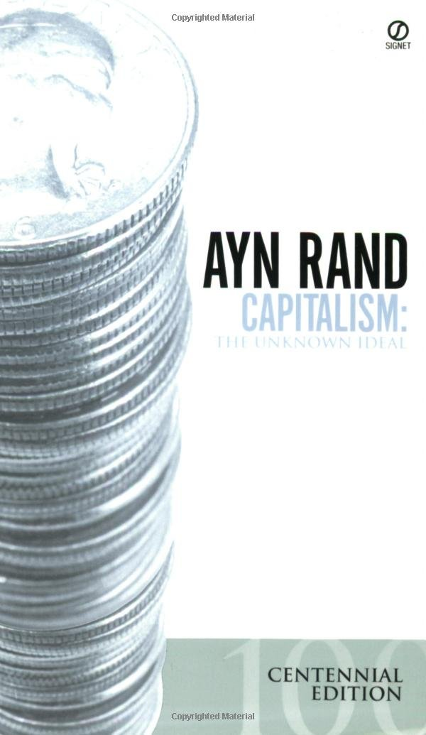 Capitalism Ideal Ayn Rand product image