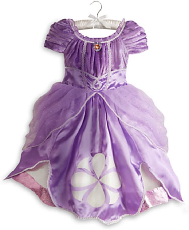 Adult Women The First Princess Sophia Sofia Purple Dress Cosplay Costume