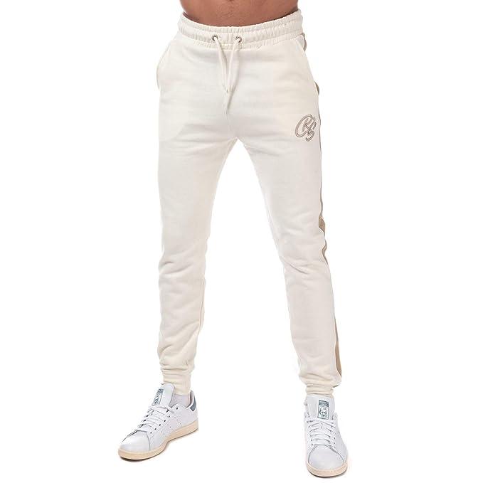 Crosshatch - Chándal - para Hombre Amarillo Blanco XL: Amazon.es ...