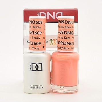 Amazon com : DND Gel Polish Peachy Keen 609 : Beauty