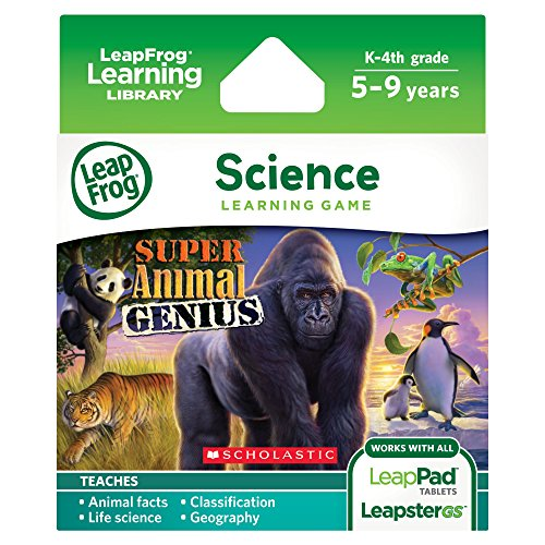 (LeapFrog Animal Genius Learning Game (works with LeapPad Tablets, LeapsterGS, and Leapster Explorer))