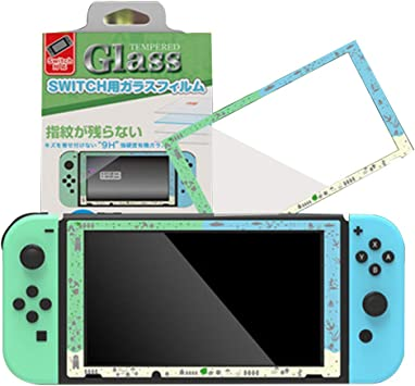 Protector de pantalla para Nintendo Switch, protector de pantalla de cristal templado para Nintendo Switch, fácil instalación, sin burbujas, HD, resistente a los arañazos: Amazon.es: Electrónica