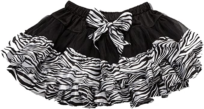 Wenchoice Girls Black /& Hot Pink Zebra Ruffle Bloomers