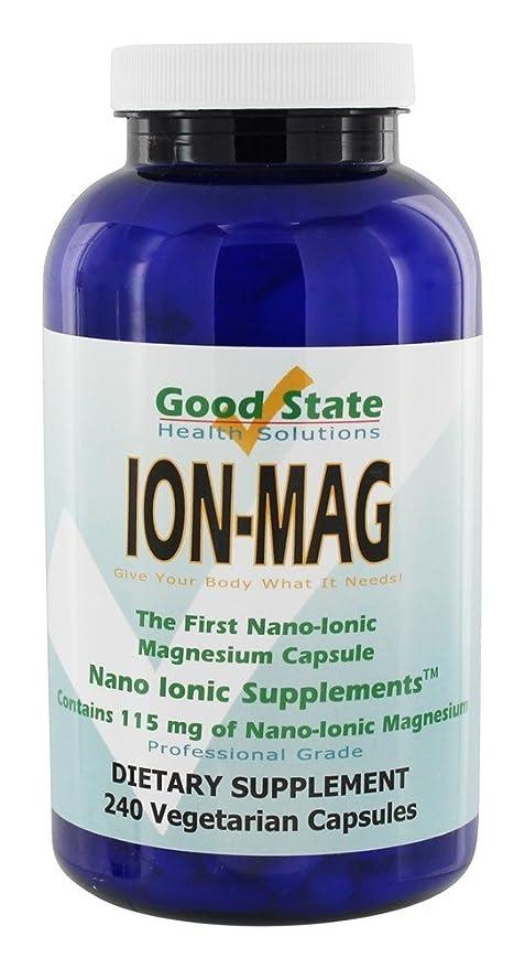 Good State - mg de magnesio iónico 115 ion-Mag. - 240 cápsulas vegetarianas