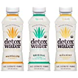 detoxwater™ Bioactive Aloe Water Sampler Pack 16 Fluid Ounces, Pack of 6