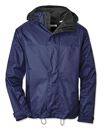 d9abd5278e8e6 Orvis Men's Raincoat, Navy, XL at Amazon Men's Clothing store: