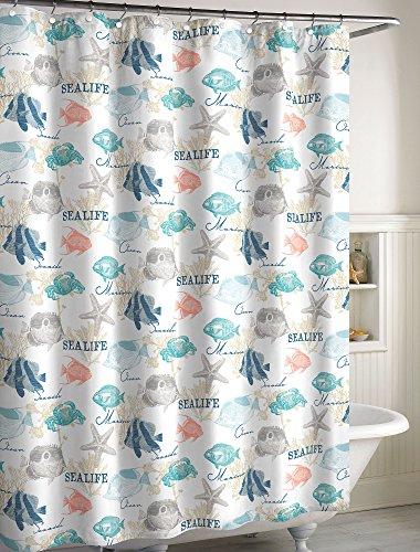 - CHF Seaside Bay Shower Curtain One Size Multi