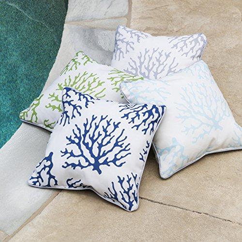 Surya Coral Indoor/Outdoor Pillow