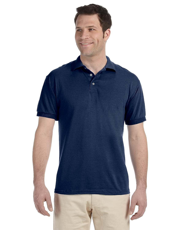 Jerzees 56 oz 50/50 Blended Jersey Polo, Navy