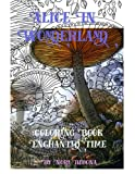 Alice in Wonderland Enchanted Time: Color Me