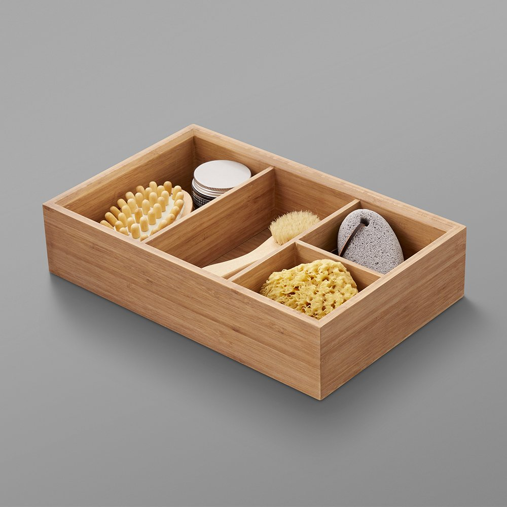 Storage Tray in Light Bamboo
