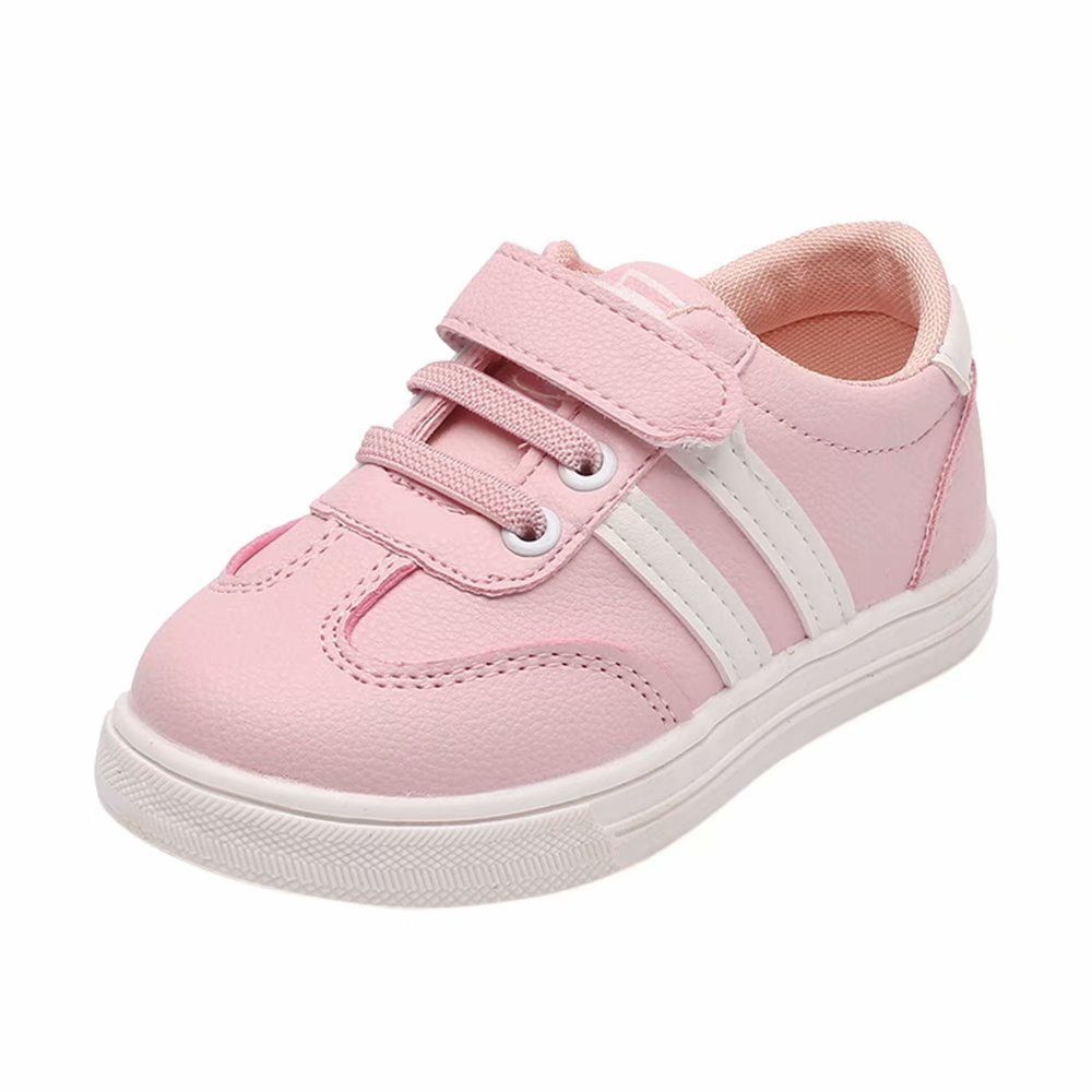 Zerototens Children Sport Sneaker,Toddler Baby Boys Girls Infant Child Pu Leather Waterproof Soft Sole Non Slip Athletic Shoes Sport Running Walking Casual Flat Shoes for 1-6 Years Old Kids