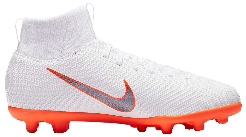 Nike Jr Superfly 6 Club Mg - Weiß Chrome-Total Orange-chro