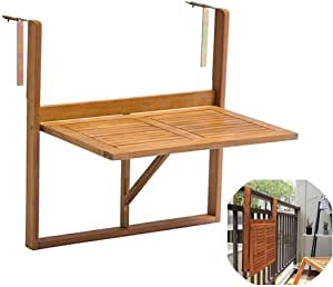 Wall-Mounted Drop-Leaf Table Folding Hanging Table ...