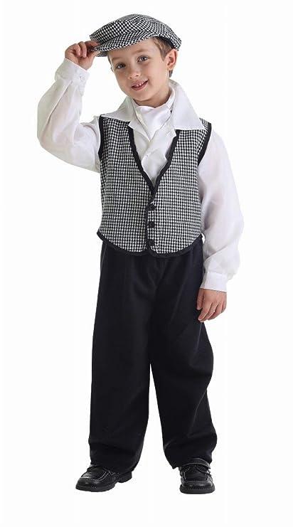 LLOPIS - Disfraz Infantil chulapo Coral t-l: Amazon.es ...