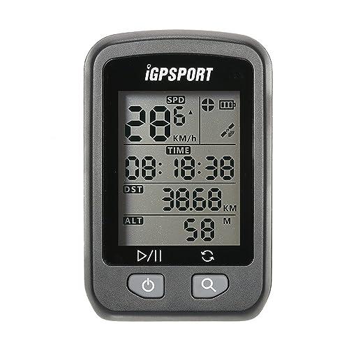 Lixada Rechargeable IPX6 Waterproof Auto Backlight Screen Bike Cycling Cycle Bicycle GPS Computer Odometer with Mount