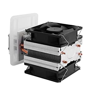 Semiconductor Refrigeration Cooling System DIY Kit 12V 6A Thermoelectric Peltier for Mini Air Conditioner