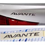 Elantra Hyundai Avante Genuine Emblem Trunk Logo Korea Parts Chrome Rear OEM NEW