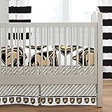 Carousel Designs Army West Point Crib Skirt Box Pleat 20-Inch Length