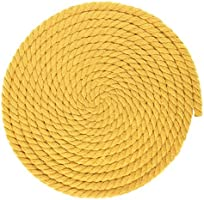 and Much More Custom Art Super Soft 3 Strand Twisted Cotton Rope West Coast Paracord Multiple Diameters Variety of Colors DIY Crafting Great for Home Decoration