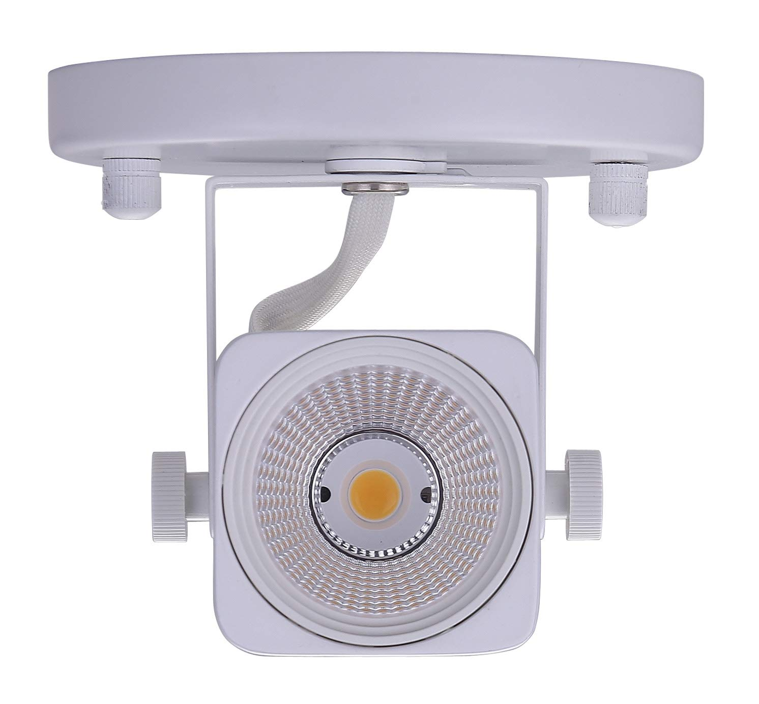 Cloudy Bay LED Ceiling Light Fixture Spot,CRI90+ Warm White Dimmable,White Finish by Cloudy Bay (Image #3)