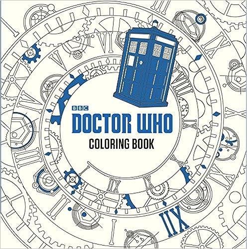 ,,TOP,, Doctor Who Coloring Book. electric Paraguay ambos Celeste acceder empieza