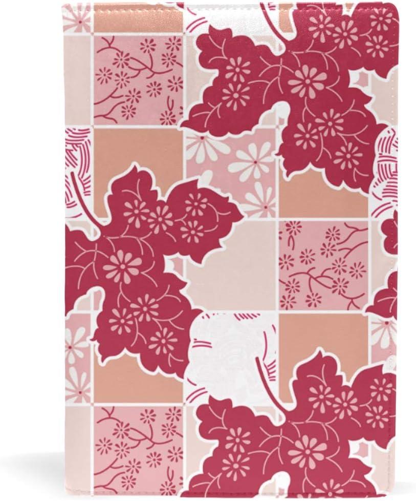 Rot 8.7x5.8 in color-1 Notizbuch Lehrbuch f/ür Kinder f/ür Schule 21,6 x 14,8 cm Vintage-Stil Bucheinband aus Leder A5 Taschenbuch Blumenmuster M/ädchen