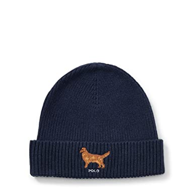 Ralph Lauren - Bonnet Golden Retriever - Bleu Marine  Amazon.fr ... dd92ee1230c
