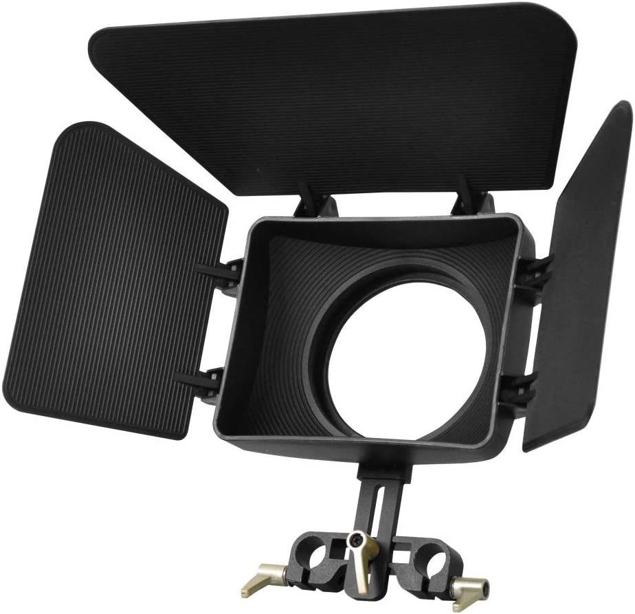 Polaroid PL-STA96MB Matte Box For 15MM Rod Stabilzer Systems