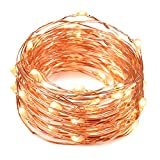 Solarbuy24 Solar Garden Outdoor Solar String Lights Copper Wire 200 Leds Solar String Light Garden Waterproof  23M(Warm Wihte)
