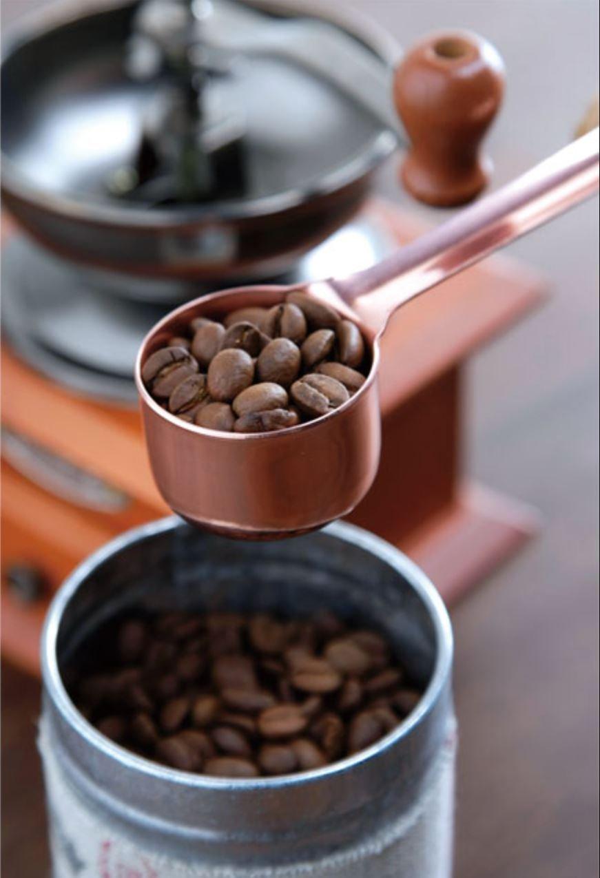 TAKAKUWA Coffee Scoop Measuring Spoon Long - Copper (Japan Import) by Takakuwa Kinzoku (Image #2)