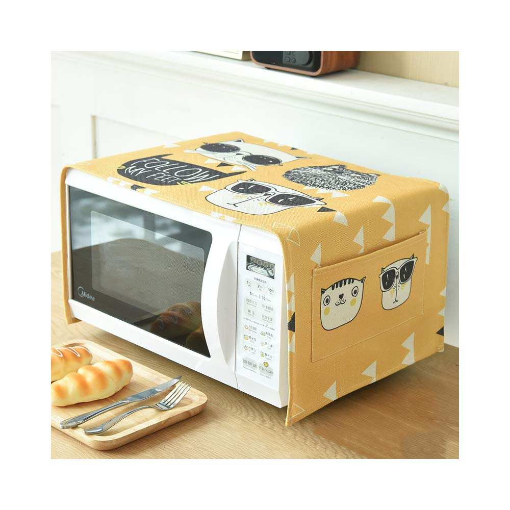 Toaster Cover/Microwave oven Broiler Appliance Cover,Dust and Fingerprint Protection (Cool Cat)