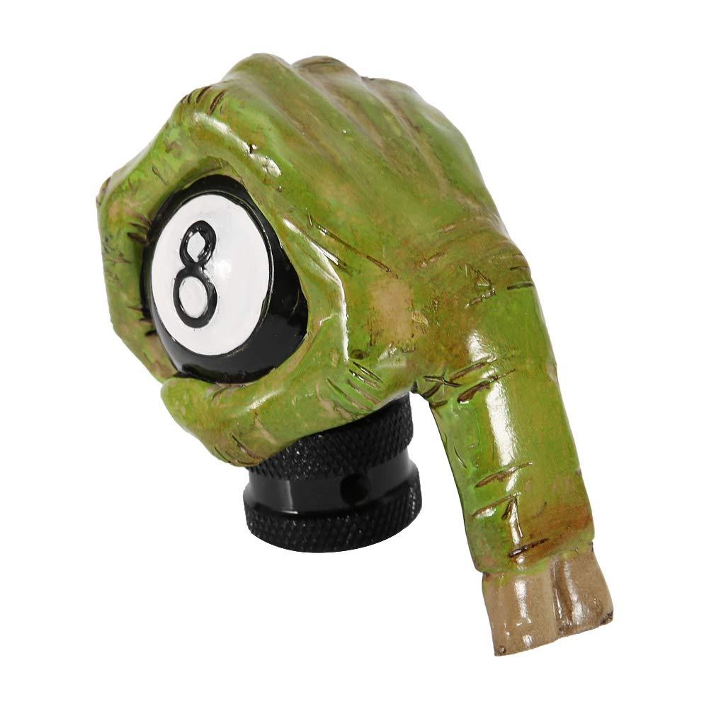 Universal Skeleton Hand Skull 8 Ball Car Manual Gear Shift Knob Lever Shifter Aramox Gear Shift Knob