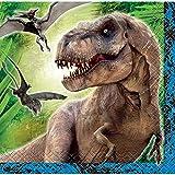 Jurassic World Beverage Napkins, 16ct