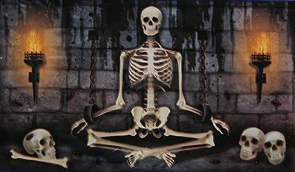 Amazon.com: Spooky Halloween Decor Decorative Door Or Wall ...