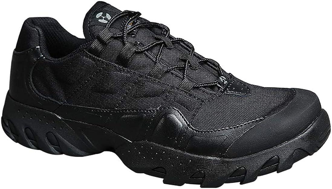 Memoryee Men's Tactical Shoes Lightweight Combat Low Top Boots Durable Leather Military Work Escursioni Arrampicata Scarpe Desert Boots