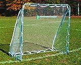 Goal Sporting Goods Steel Soccer Rebounder, 6 x 6-Feet, Silver