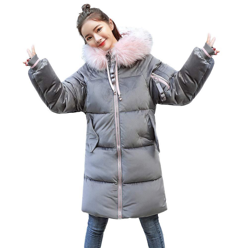Seaintheson Women's Coats OUTERWEAR レディース B07HRFNMZK Medium グレー グレー Medium