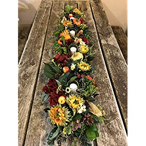 fall centerpiece, thanksgiving arrangement 50