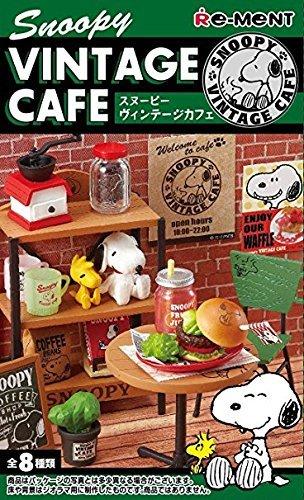 Snoopy Vintage Cafe Re-Ment miniature blind (Re Ment Miniature)