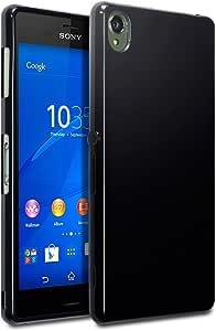 Sony Xperia Z3 Case, Terrapin [SLIM FIT] Xperia Z3 Case [Black] Premium Protective TPU Gel Case for Sony Xperia Z3 - Solid Black