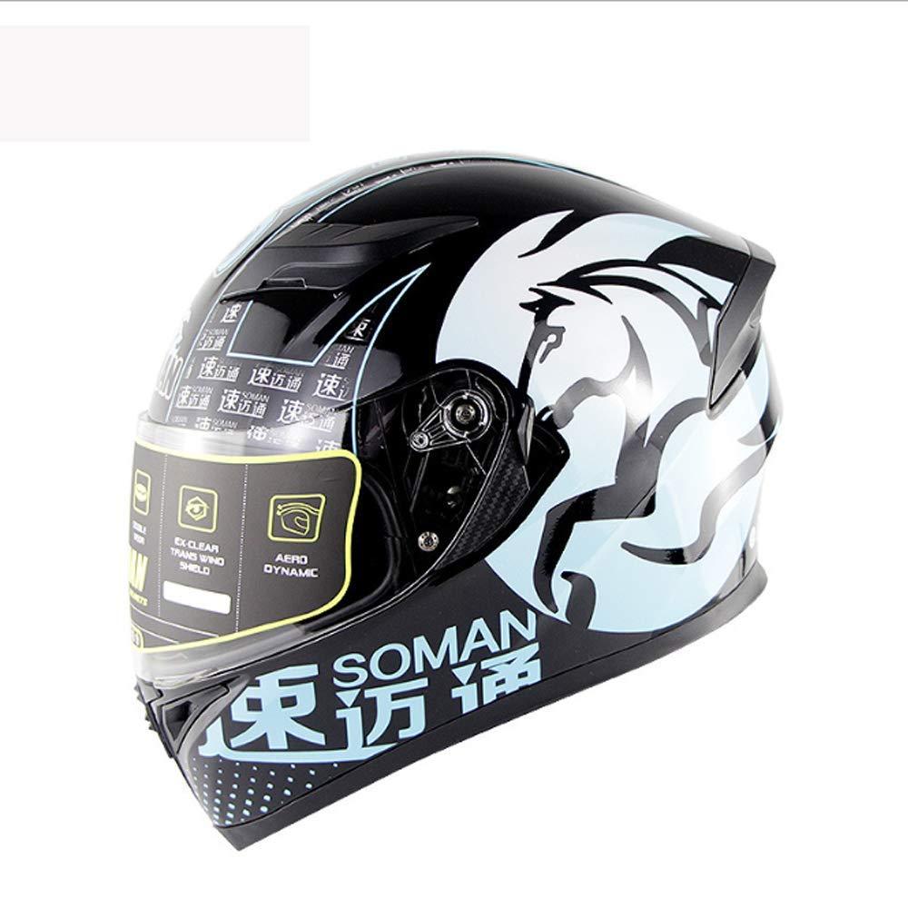 大人用フルフェイスクワッドクラッシュモトクロスヘルメット、レトロオフロードバイクヘルメットECEマウンテンバイクATVスクーターユニセックス、XL用に認定,大
