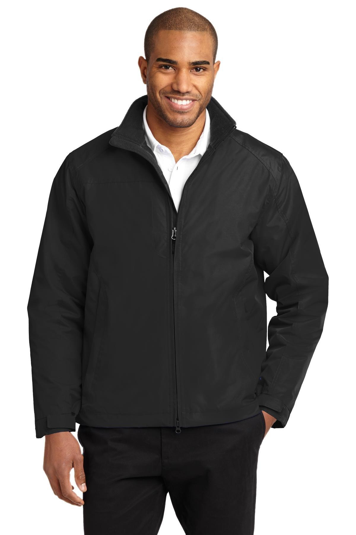Port Authority Men's Challenger II Jacket L True Black/True Black