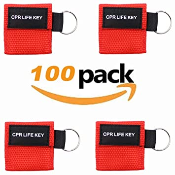 Amazon.com  Funny Utopic CPR Kit 100 Pcs Pack CPR Mask One-Way Valve ... 65e62d4ce