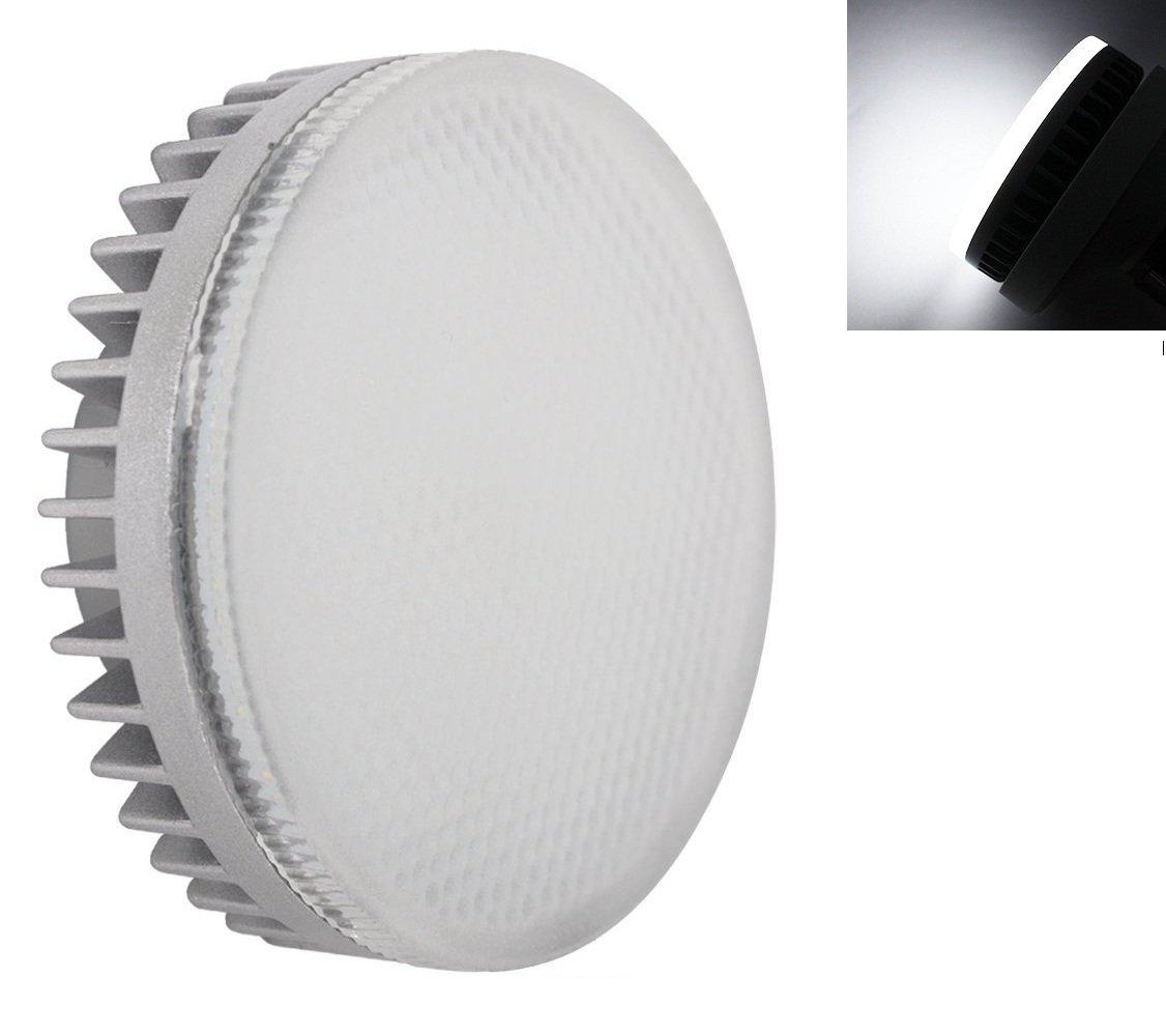 masonanic 8.5ワット下キャビネットライトAC 110 V / 220 V LEDパックライト44pcs高輝度5050smd LEDチップ、デイライトホワイト天井ダウンライト電球ダウンライト Masonanic B0784LJSC1 15741  6000k Daylight Cool White
