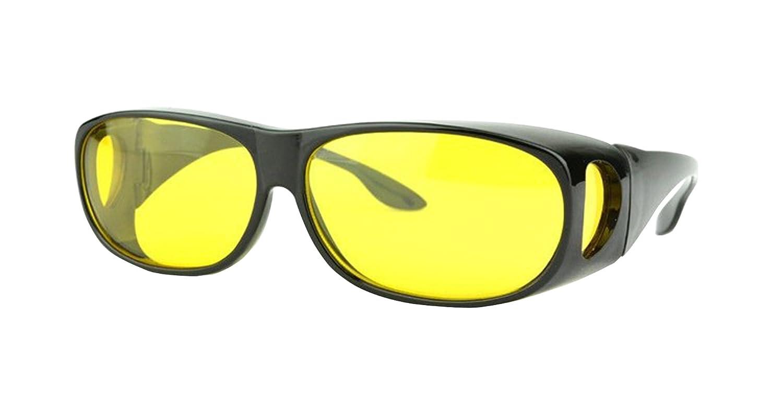 Hombre Gafas de Sol de Visión Nocturna, Polarizado Envolver alrededor Noche  Conducción Deportivas Gafas  Amazon.com.mx  Ropa, Zapatos y Accesorios 8cb184d1cf