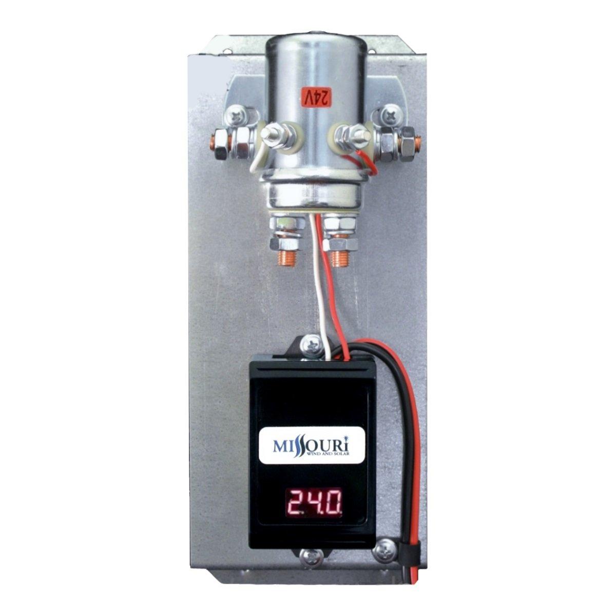 amazoncom 24 volt digital 440 amp charge controller with divert