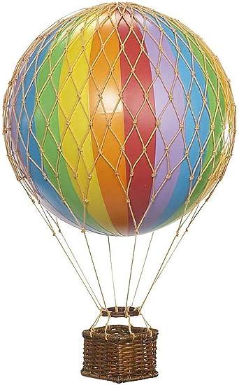 Geschenk basteln ballonfahrt