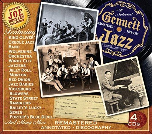 Gennett Jazz 1922-1930 by JSP