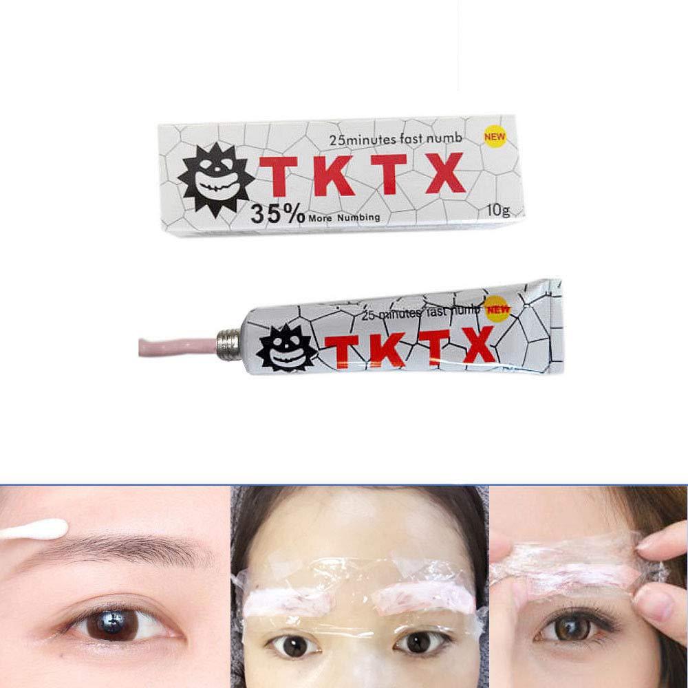 Tattoo Cream - Devin Piercing Permanent bestickt Tattoo, für Augenbrauen, Tipps, Eyeliner, 4 Farben (Color : Blue) für Augenbrauen Dewin